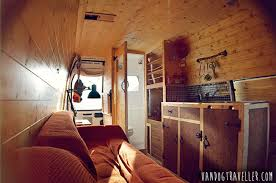 DIY Van Conversion Made From Wood