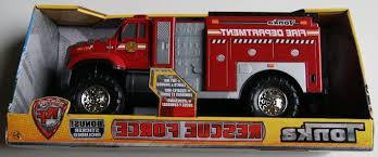 100 Tonka Fire Rescue Truck Department Force ToyGalleryNET