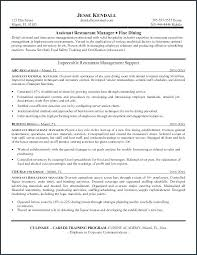 Sample Resume Business Operations Assistant Job Description Project Manager Marketing