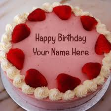 Specially Husband Name Wishes Birthday Cake