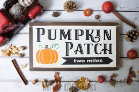 Pumpkin Patch Northern Va by Pumpkin Patch Two Miles Farmhouse Fall Signs Hello Fall