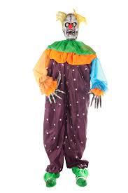 Fiber Optic Pumpkin Head Scarecrow by Clown Props