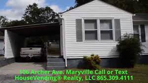 The Shed Maryville Tn Concert Schedule by 106 Archer Ave Maryville Tn 37804 For Rent Youtube