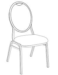 dessiner une chaise coloriage chaise imprimer gratuitement