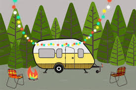 Rv Camping Clip Art Dromfgo Top