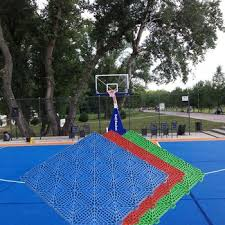 terrain de basket exterieur pas cher prix personnalisé meilleur qualité bois extérieur