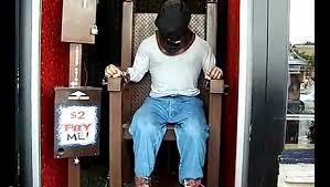 chaise lectrique chaise électrique dans un parc d attraction
