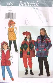 Children's Vest Jacket Sewing Pattern Sz 10-14 | What's It Worth Dressbarn Denim Jacket Large Tips For Quilting Coats Jackets And Fashion Garments Supply Ralph Lauren Plaid Barn Coat In Red Men Lyst Urban Republic Little Girls Or Toddler Quilted Gingham 25 Unique Pattern Ideas On Pinterest Lace Jacket Bolero Product Buckaroo Bobbins Range Duster Sewing Pattern Lauren By Packable Down Blue Polo Ralph Cadwell Mens Navy Bomber Woolblend Boys Size 3 3t Kids