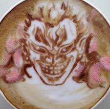 Cappuccino Art Anime 62590