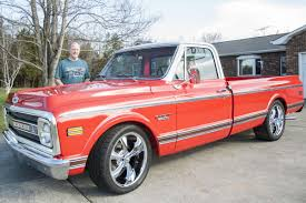 MY CLASSIC CAR: Terry Fox's '69 Chevy C10 | Galleries | Statesville.com 1969 Chevy C10 Pickup Truck Hot Rod Network 2018 Wheels Custom 69 88 Chevrolet 100 Years Truck2 Youtube Burnout Cst10 F154 Kissimmee 2016 Bill Newells 1972 C20 Longbed Converted To Shortbed Keiths On Forgeline Rb3c Loud And Long Triple Turbo Duramax Diesel Chevy Runs 86216125mph Another Marina66chevelle Ck Pickup Post2519307 Street Cruisin The Coast 2014
