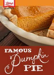 Libbys Pumpkin Pie Mix Ingredients List by 10 Best Thanksgiving 2016 With Libby U0027s Images On Pinterest