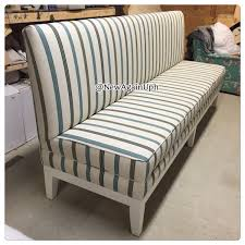 Inspiring Upholstered Dining Room Bench With Back Uk Designs Throughout