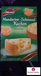 produkttest mandarinen schmand kuchen albona