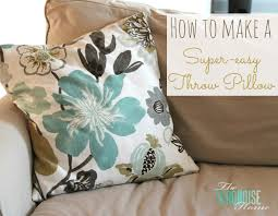 furniture white floral design throw pillows for couch