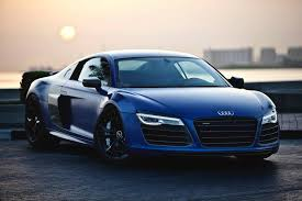 Flawless Matte Sepang Blue R8 V10 Plus For more amazing Audi