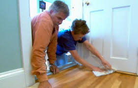 Applying Polyurethane To Hardwood Floors Youtube by How To Refinish Hardwood Floors This Old House