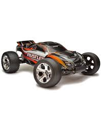 100 Stadium Truck TRA370541_BLK RUSTLER 110 SCALE STADIUM TRUCK WITH TQ 24 GHZ