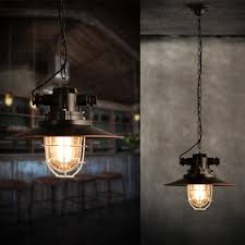 Ebay Antique Lamps Vintage by Searchlight Nautical Fisherman Metal Glass Lamp Shade Ceiling