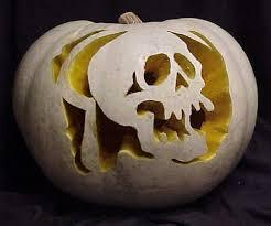 Sugar Skull Pumpkin Carving Patterns by 30 Skull Pumpkin Carving Ideas