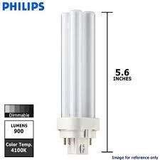 10 pack philips lighting 38328 1 pl c 13w 841 4p alto 13 watt