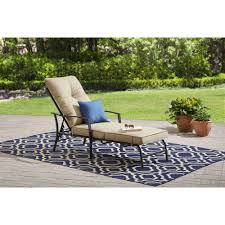 Mainstays Forest Hills Outdoor Chaise Lounge, Espresso Frame ... Fniture Target Lawn Chairs For Cozy Outdoor Poolside Chaise Lounge Better Homes Gardens Delahey Wood Porch Rocking Chair Mainstays Double Chaise Lounger Stripe Seats 2 25 New Lounge Cushions At Walmart Design Ideas Relax Outside With A Drink In Dazzling Plastic White Patio Table Alinum And Whosale 30 Best Of Stacking Mix Match Sling Inspiring Folding By