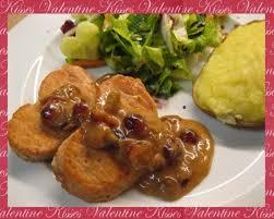 cuisiner coeur de porc recette coeur de porc aux cramberries pour mon valentin