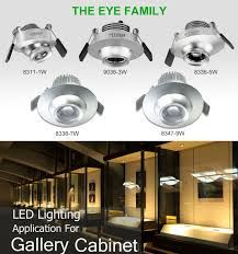 1w low voltage led inside cabinet lighting with for