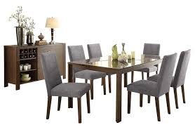 Amazon.com - Factor Modern 8PC Dining Set Black Glass Top ... Details About Vidaxl Set Of 6 Modern Ding Side Chairs Metal Frame Legs Faux Leather Brown Dinges Midcentury Beige And Fabric 5piece Baxton Studio Kimberly Chair 2 Simpli Home Emery Mid Century Black Round Hairpin Taylan Whosale Ding Chairs Room Fniture Riviera Gardner Contemporary 5 Piece Dark Finish With 10 Button Upholstered A Minimalist Chair Effortlessly Drses Up A Luxurious Modern Boasts Wood Table Illuminated Pierre