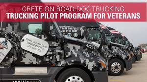 100 Patriot Trucking Pilot Program For Military Veterans Crete On Road Dog