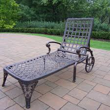 Elite Cast Aluminum Outdoor Chaise Lounge With Wheels Fniture Incredible Wrought Iron Chaise Lounge With Simple The Herve Collection All Welded Cast Alinum Double Landgrave Classics Woodard Outdoor Patio Porch Settee Exterior Cozy Wooden And Metal Material For Lowes Provance Summer China Nassau 3pc Set With End Nice Home Briarwood 400070 Cevedra Sheldon Walnut Cane Rolling Chair C 1876