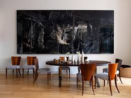 Dining Room Abstract Wall Art On Contemporary
