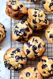 Gwyneths Blueberry Muffins Recipe