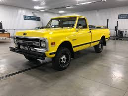100 1970 Truck Chevrolet K10 4Wheel ClassicsClassic Car And SUV Sales