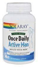 Solaray ce Daily Active Man 90 Ve arian Capsules