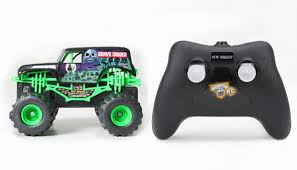 Gizmo Toy: New Bright Monster Jam 1:43 Remote Control Grave Digger ...