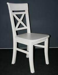 details zu esszimmer stuhl küchen stühle weiß holz kiefer massiv lasiert landhas stil