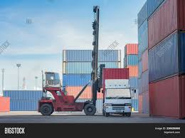 100 Motor Truck Cargo Container Image Photo Free Trial Bigstock