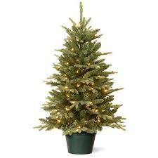 Spiral Ruby Trees Christmas Tree Set Of 3 Charlottepavilion Regarding Foot Lighted