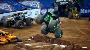 100 Monster Trucks Atlanta Best Actions HD Jam Georgia Dome 2015 Fabulous