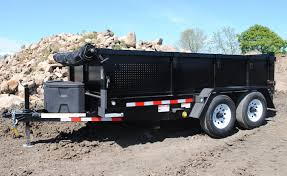 What To Look For When Buying A Dump Trailer | Campway's Truck