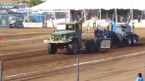 100 Deuce Truck 1971 M35A2 And Half Truck Pull YouTube