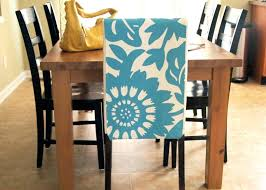 Black Dining Chair Covers Room Adorable Blue White Floral Cover