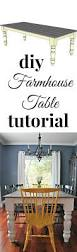 free farmhouse dining table plans table plans diy tutorial and