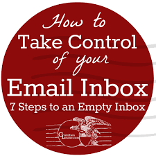 How To Take Control Of Your Email Inbox Gretchen Louise