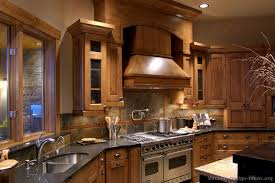 Image Of Rustic Hickory Kitchen Cabinets
