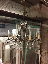 antique underwriters laboratories 8 light brass
