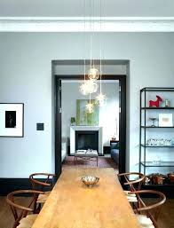 Dining Room Pendant Lights Contemporary Lighting Glass