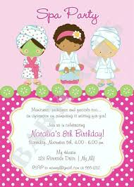 Free Printable Pamper Party Invitation Templates Spa Trend Of Invitations New 7 Fantastic Invite Ideas Neck Crick Invites