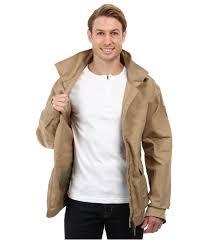 fjallraven övik short jacket in brown for men lyst