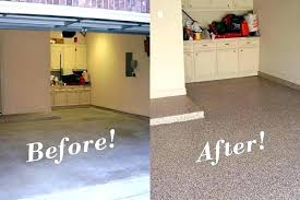 Painted Cement Floors Amazing Beauteous Painting Concrete Before And After Regarding Paint Floor Pictures Photos Of